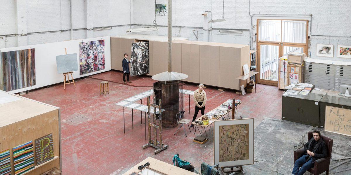 Combibezoek voor scholen : Philippe Vandenberg in BOZAR en bezoek aan zijn atelier.