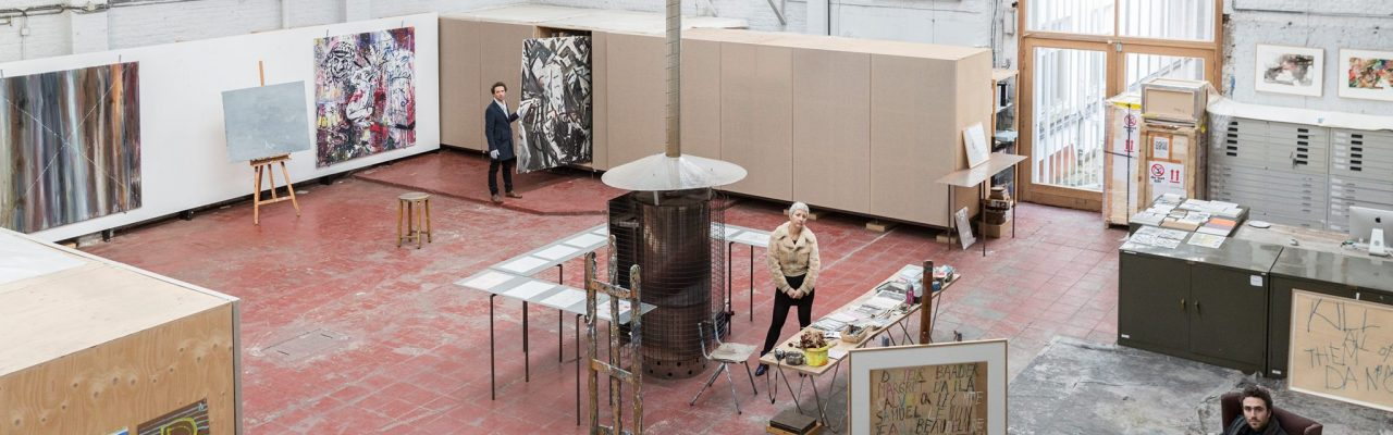 Visite combinée pour écoles: Philippe Vandenberg à BOZAR et visite de son atelier.