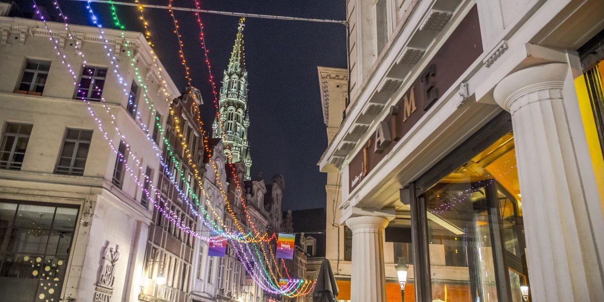 Wandeling: Een geschiedenis van de regenboog in Brussel