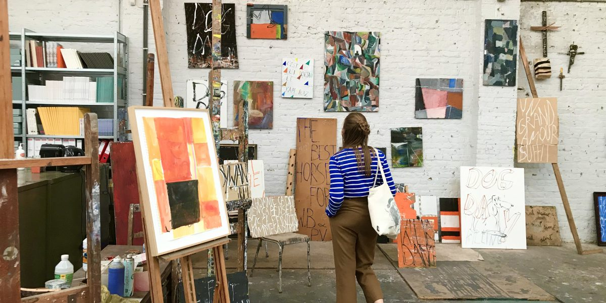 Atelierbezoek: Philippe Vandenberg – Molenbeek